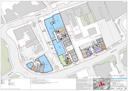 Magna Square - Ground Floor Plan